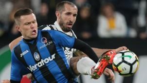 Chiellini Ilicic Juventus Atalanta Serie A