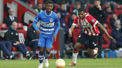 Kenneth Paal Denzel Dumfries PSV - PEC Zwolle 04042019