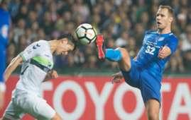 AFC champions league, Kitchee 0:6 lost to Jeonbuk Hyundai Motors.