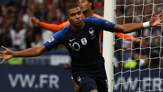 Kylian Mbappé France Netherlands Nations League 09092018