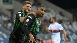 Berardi Boateng Sassuolo Genoa