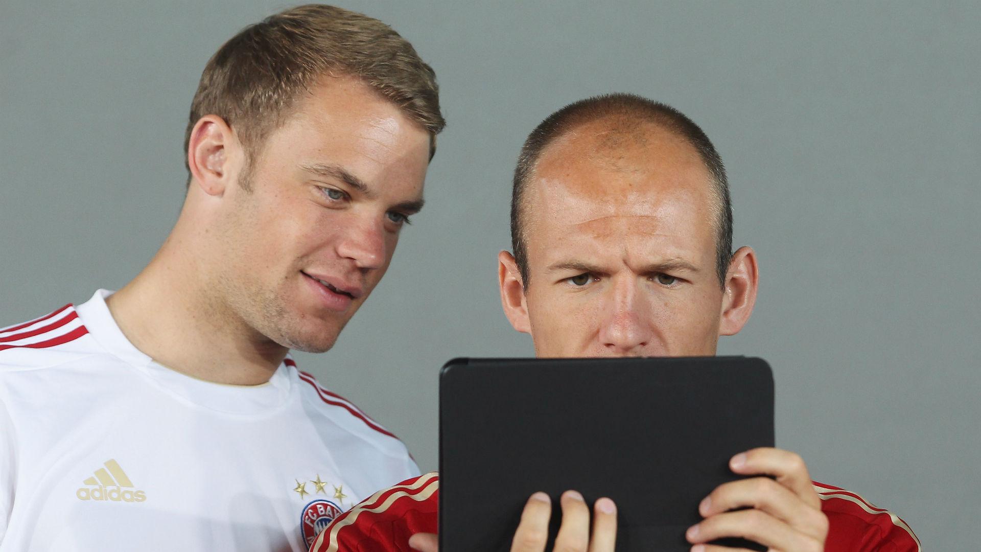 Manuel Neuer Arjen Robben