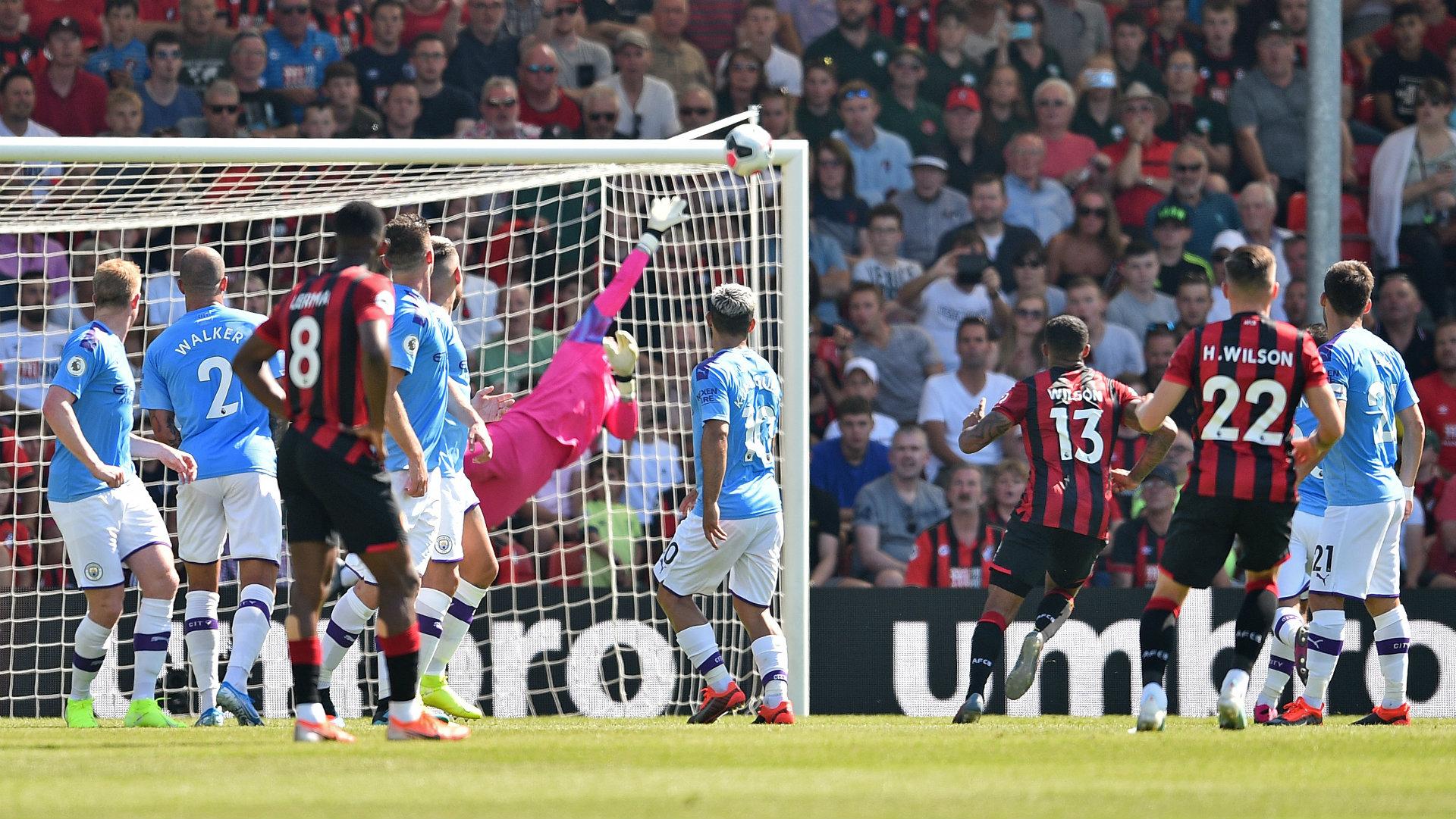 Harry Wilson goal Bournemouth vs Manchester City 2019-20