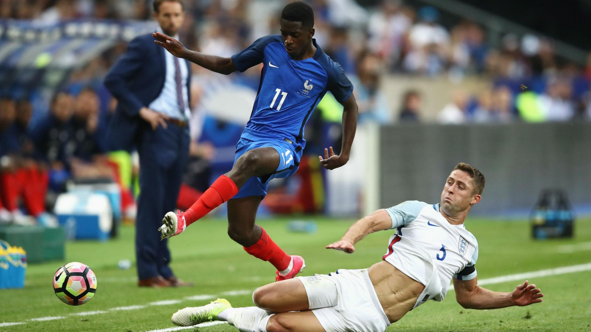 Ousmane Dembele Gary Cahill England France 061317