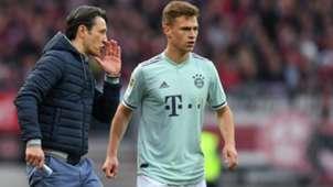 Niko Kovac Joshua Kimmich Bayern Munchen
