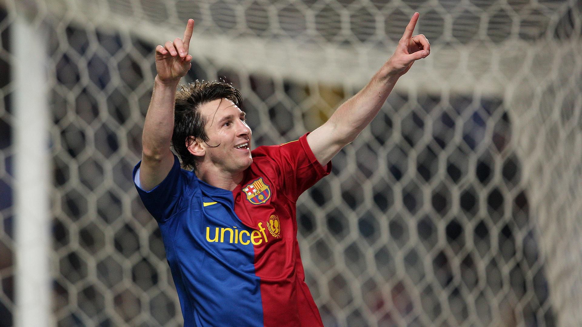 Lionel Messi Barcelona Espanyol 2008