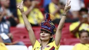 Torcedora Colômbia Copa do Mundo 28 06 18