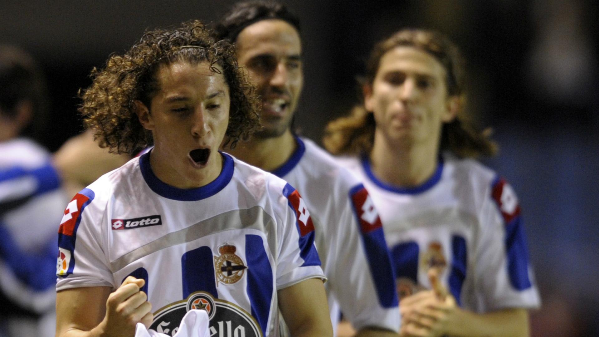 Andrés Guardado Deportivo La Coruña