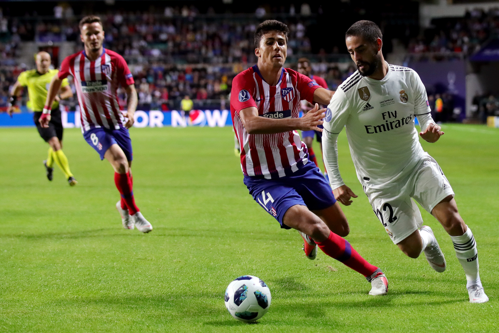 Rodri Isco Alarcon Real Madrid Atletico Madrid 15082018