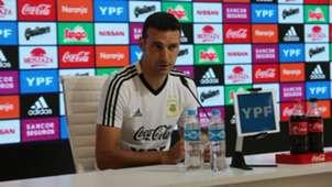 Scaloni Seleccion argentina conferencia de prensa