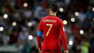 Cristiano Ronaldo Portugal v Spain