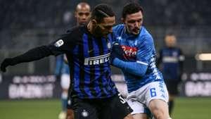 D'Ambrosio Mario Rui Inter Napoli Serie A