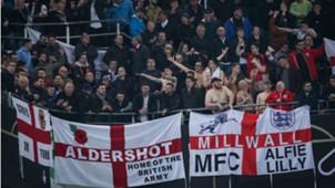 England fans in Dortmund, Germany - England, 03222017