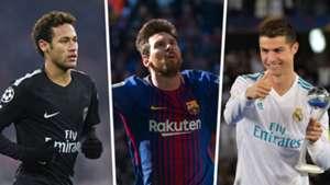 Les dates de naissance de Messi, de Ronaldo et plus grandes stars du football