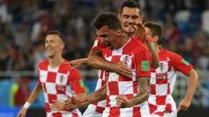 croatia nigeria - mario mandzukic dejan lovren - world cup -16062018