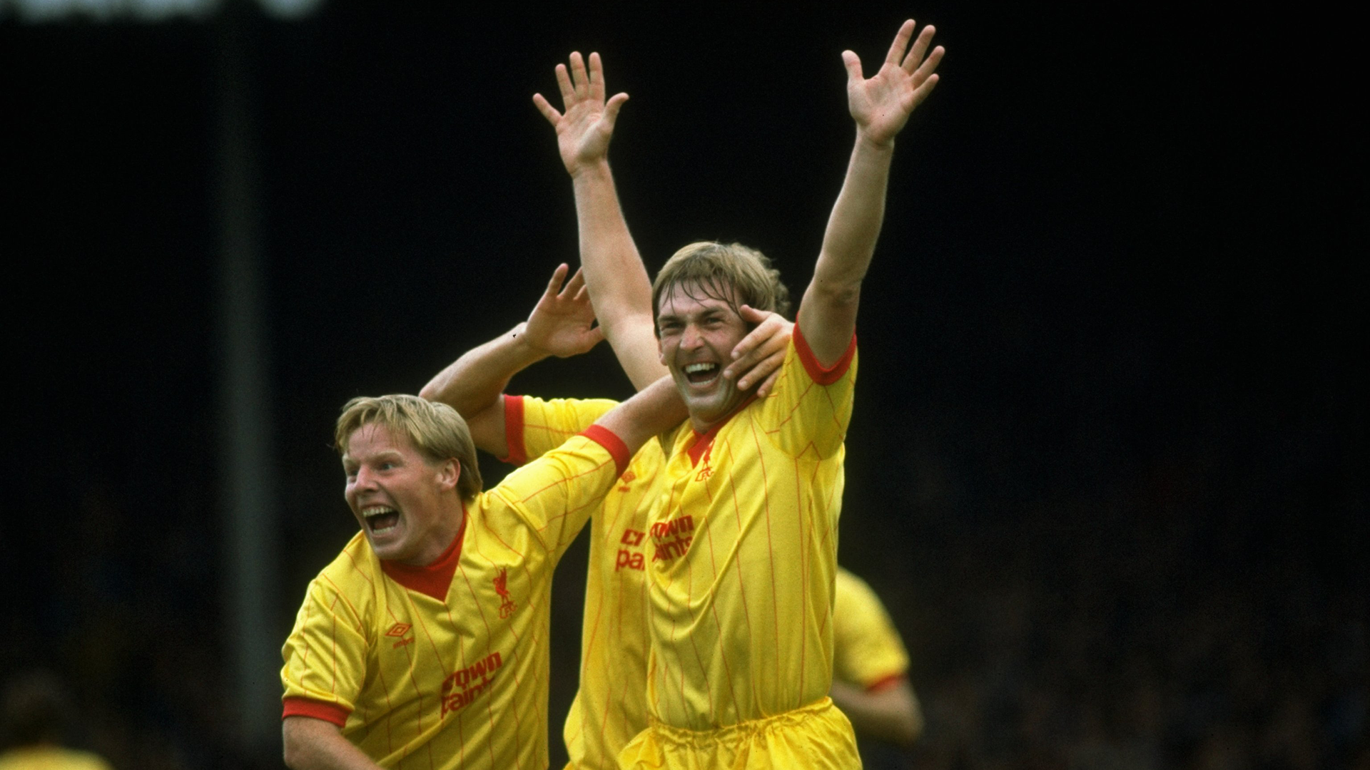 Kenny Dalglish Sammy Lee Liverpool FC
