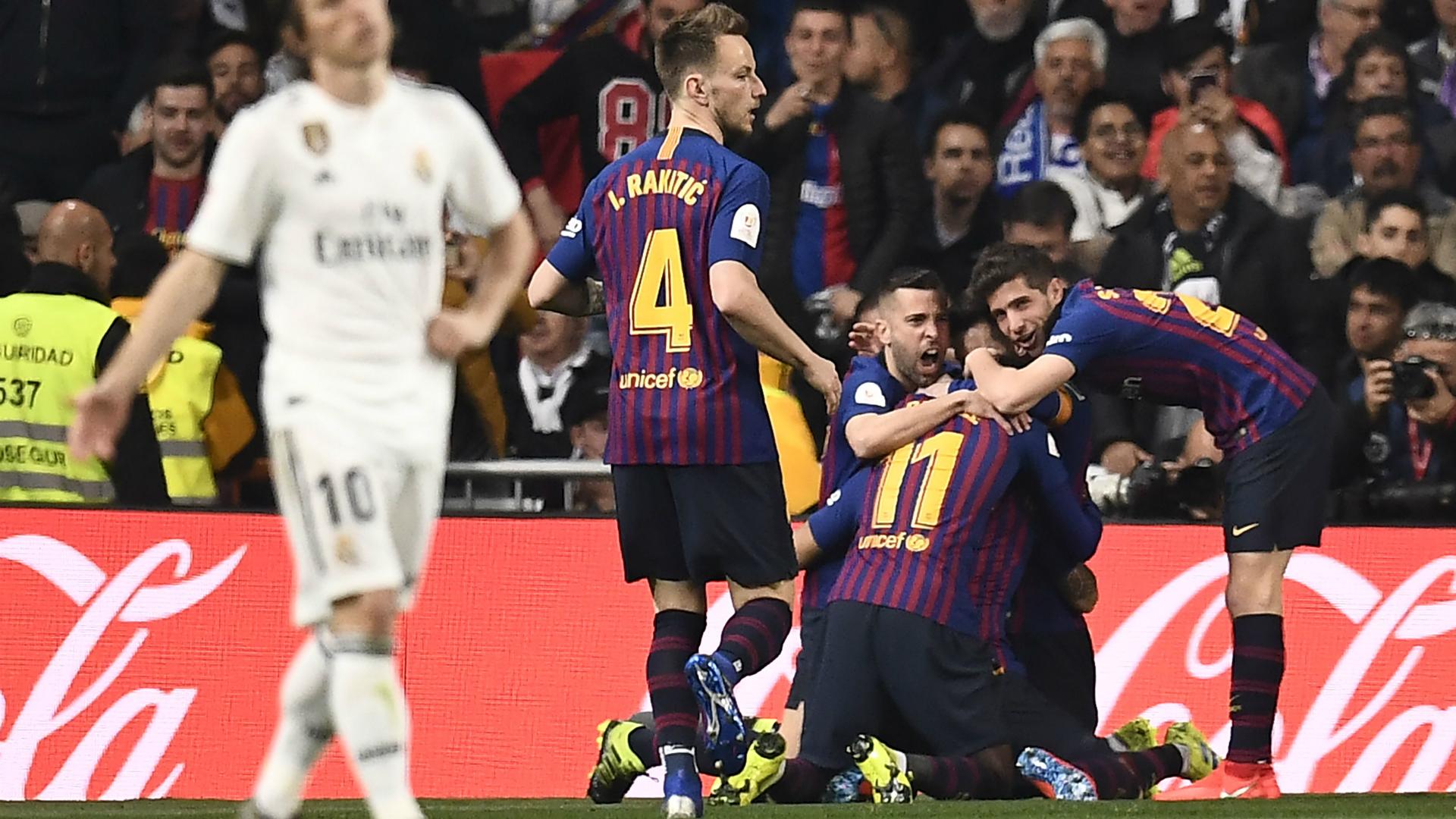 Real Madrid - Barcelona Copa del Rey 02272019