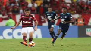 Cuéllar Flamengo x Emelec