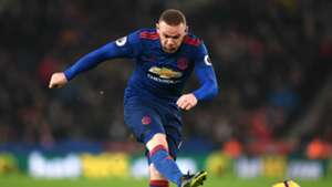 Wayne Rooney Premier League Stoke v Man Utd