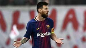 Messi Piräus Barcelona 10312017