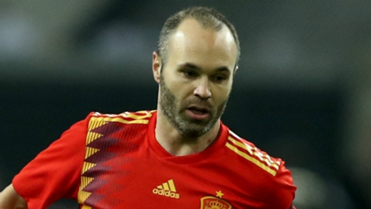 12043cc555 Iniesta volta atrás em decisão de se aposentar da seleção espanhola após a Copa  do Mundo