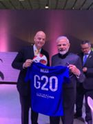 India FIFA narendra Modi Infantino
