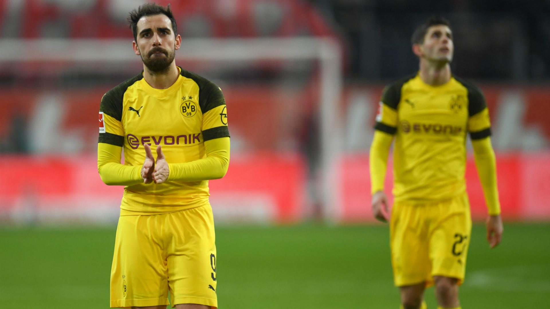 Paco Alcacer Christian Pulisic Borussia Dortmund