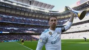 Sergio Ramos perilla