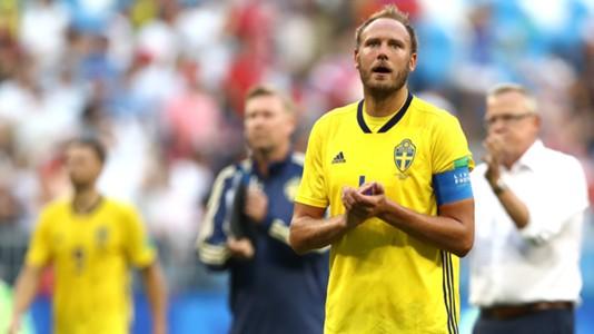 Granqvist - Suécia x Inglaterra - 7/07/2018