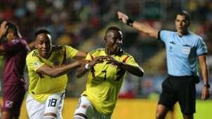 Ivan Angulo Colombia U20 2019