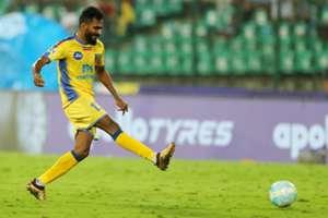 CK Vineeth Chennaiyin FC Kerala Blasters