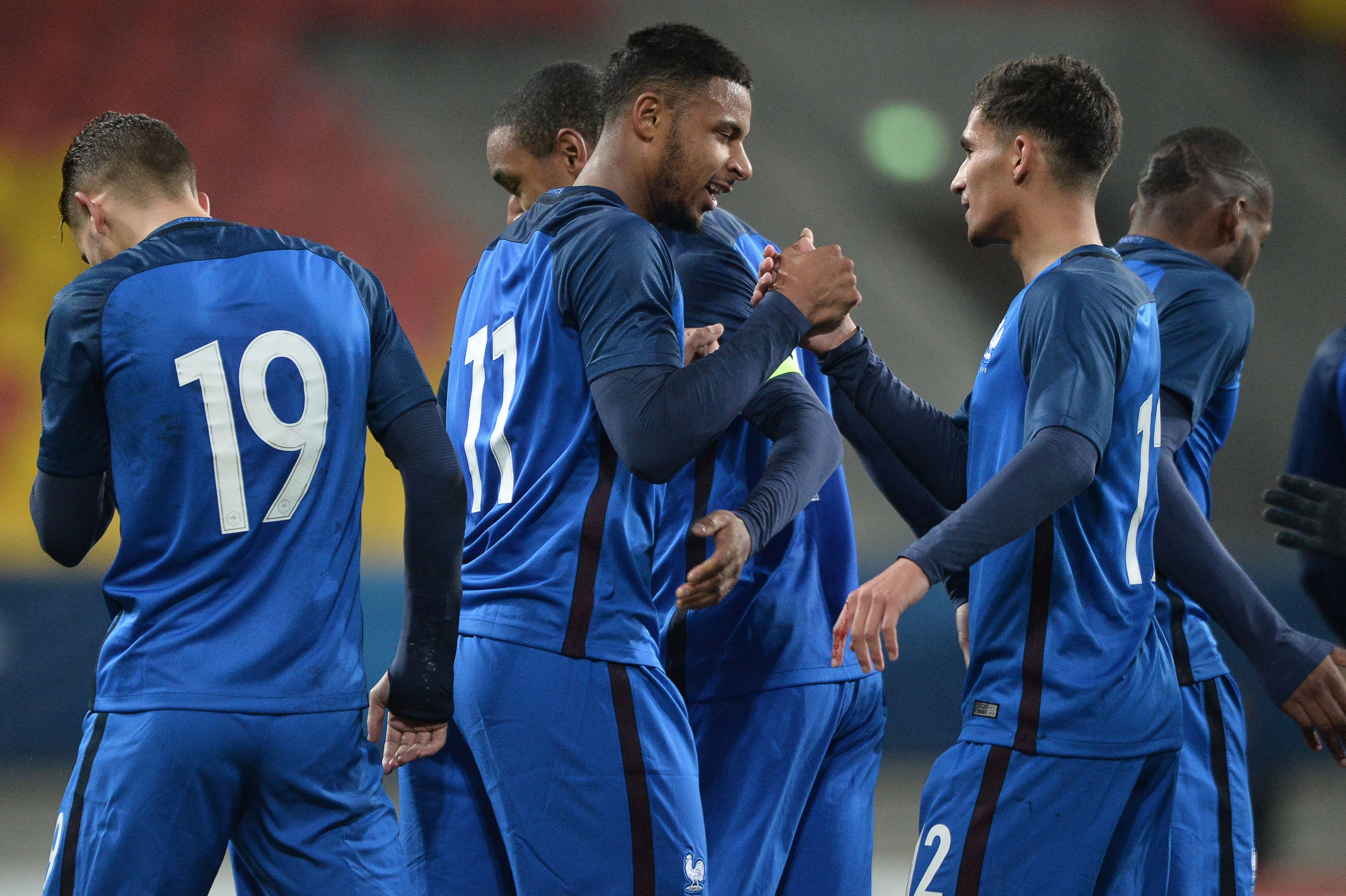 Lys Mousset Houssem Aouar France U21