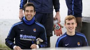 Claudio Bravo Griezmann Real Sociedad
