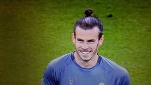 Gareth Bale sonrisa Cardiff