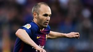 Andres Iniesta Barcelona 2017-18