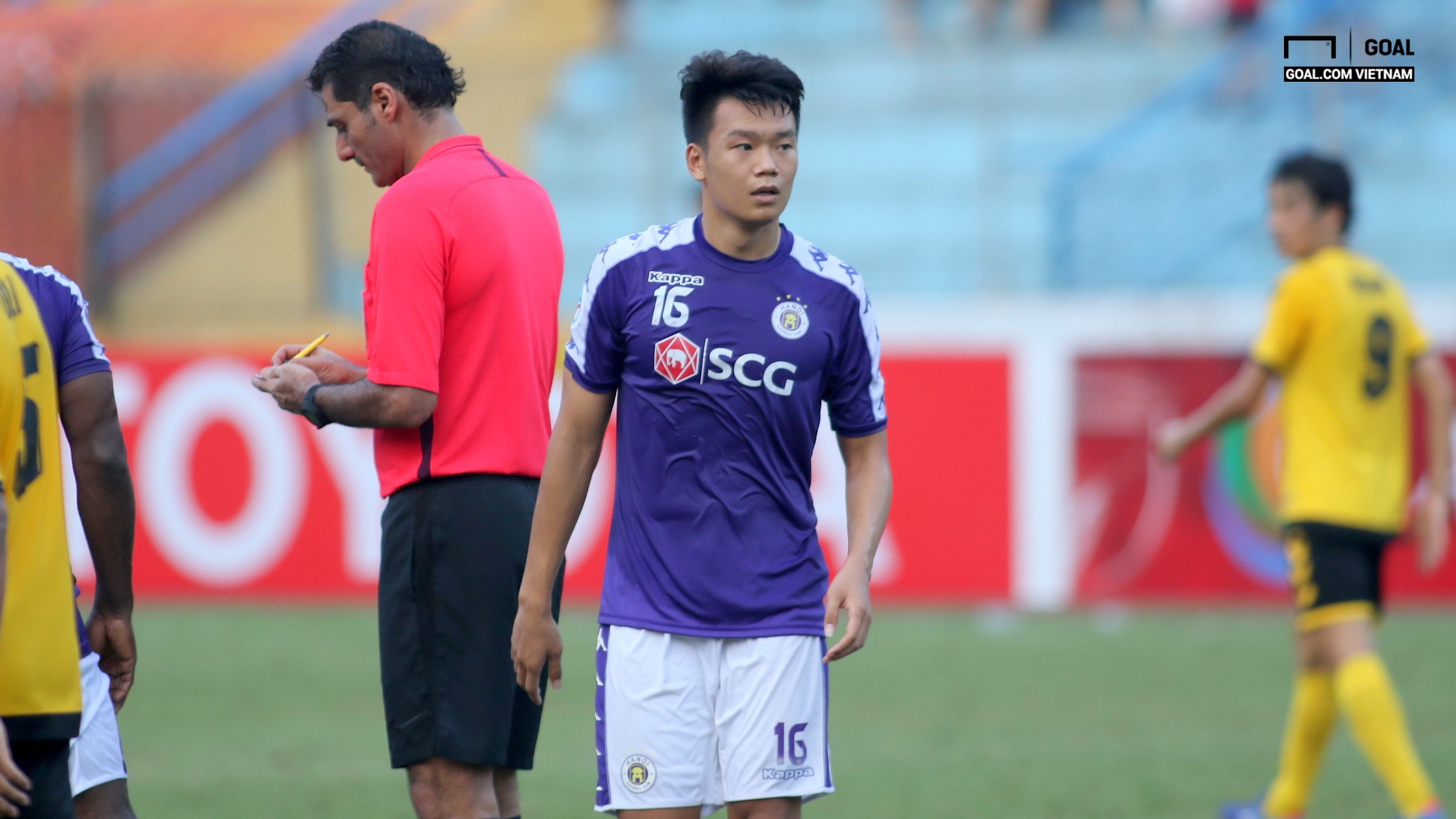 Nguyen Thanh Chung Ha Noi FC vs Tampines Rovers Group F AFC Cup 2019