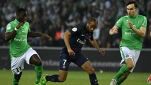 Lucas Moura Saint-Etienne PSG Ligue 1 14052017