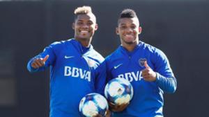 Wilmar Barrios - Frank Fabra - Boca Juniors 2017