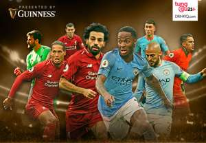 GFXID Guinness - Adu Pemain Kunci Liverpool vs Manchester City | Cover