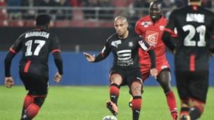 Wahbi Khazri Cedric Yambere Dijon Rennes Coupe de la Ligue 25102017