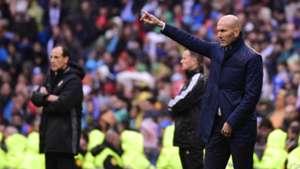 Zinedine Zidane Voro Real Madrid Valencia LaLiga 29042017