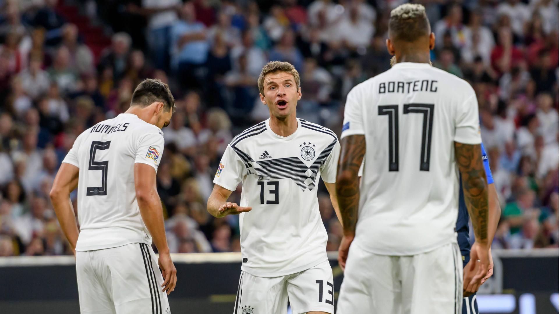 ONLY GERMANY Mats Hummels Thomas Muller Jerome Boateng Germany 2018