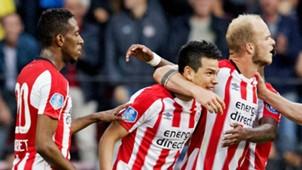 Hirving Lozano PSV celebration