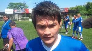 Bobby Satrial Trial Persib Bandung