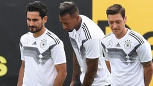 Özil Boateng Gündogan Deutschland DFB