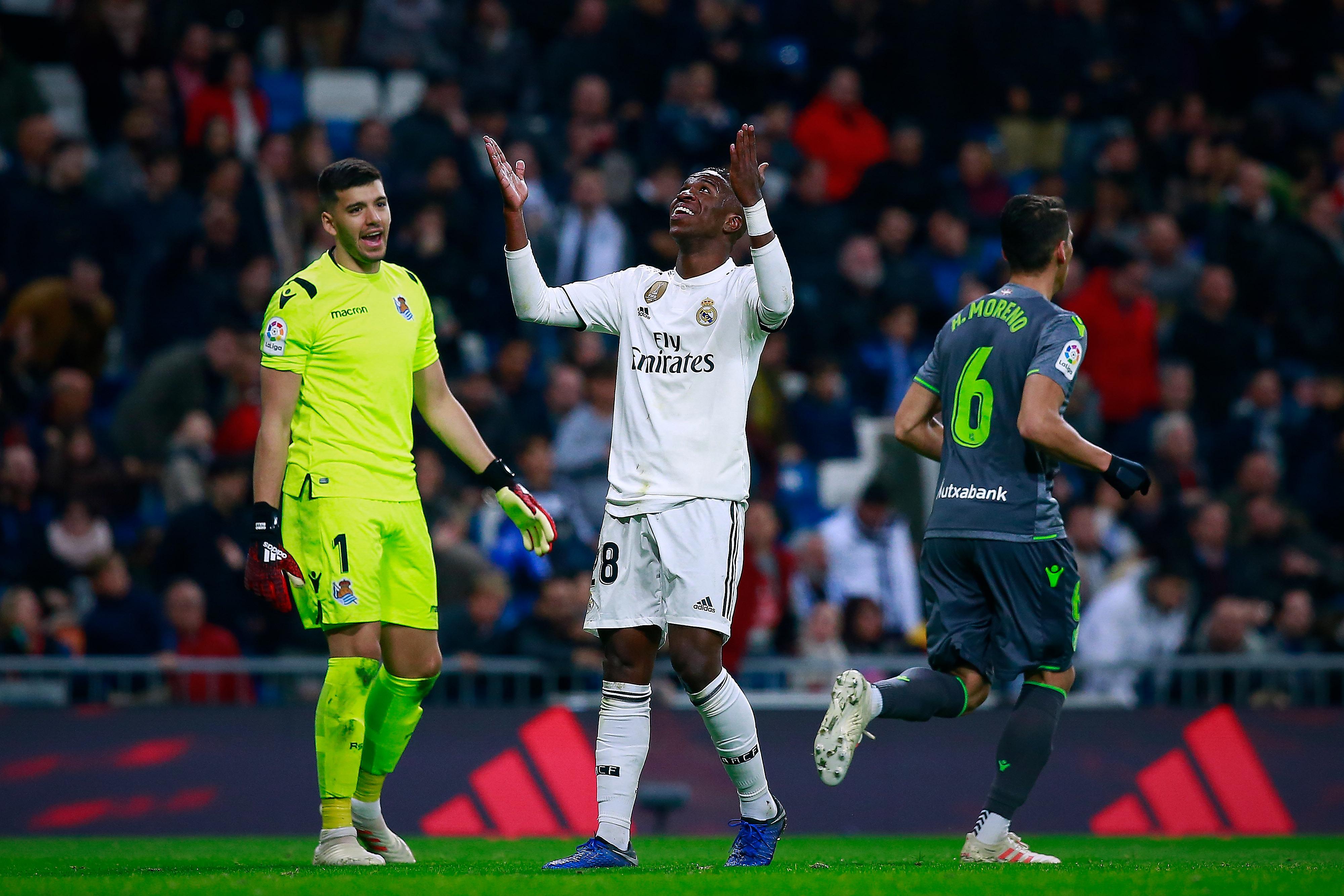 Rulli Vinicius Real Madrid Real Sociedad LaLiga