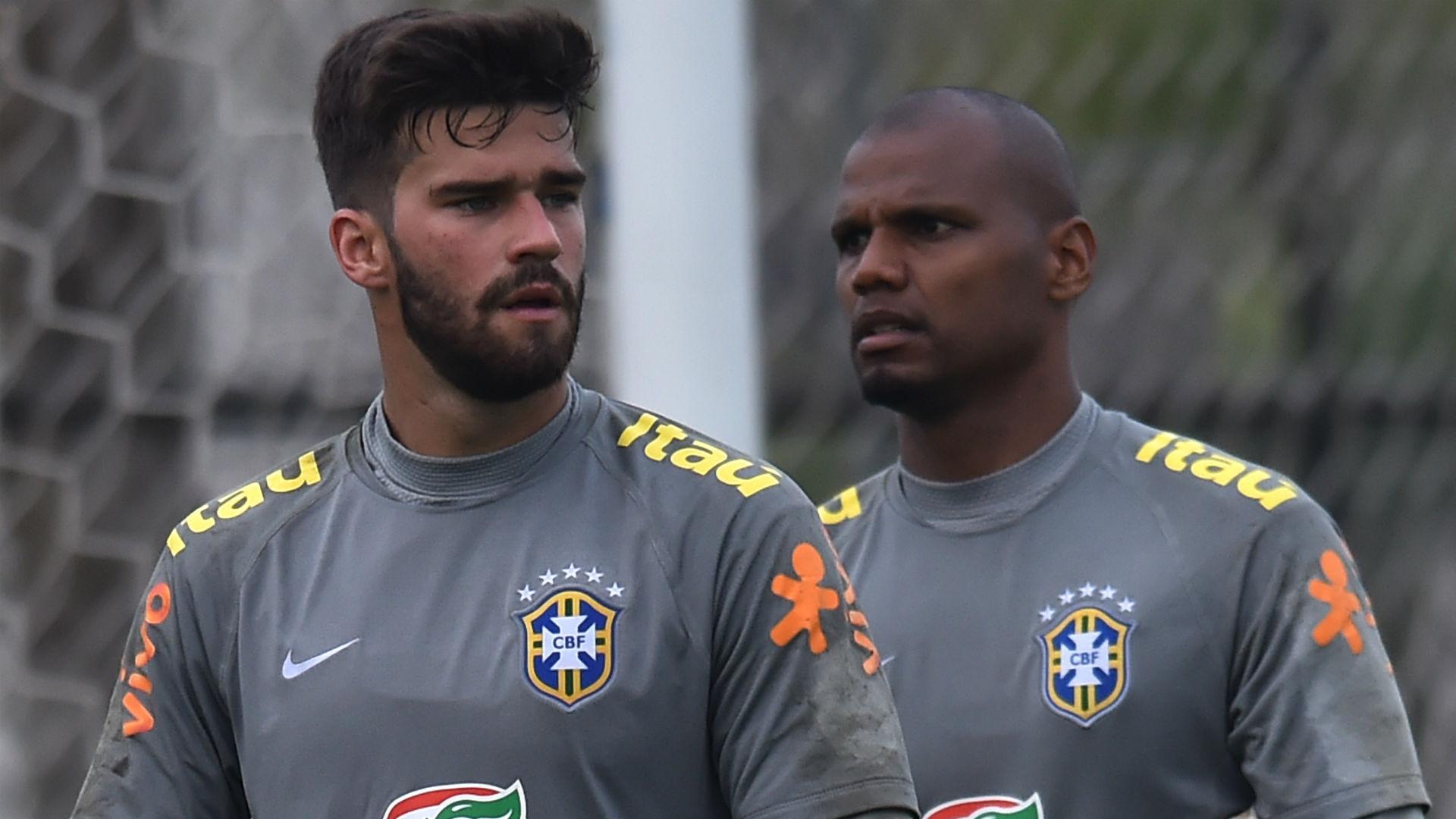 Alisson Jefferson 2015 seleção Brasil