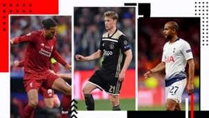 UEFA Squad of the season van Dijk de Jong Lucas