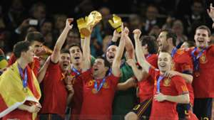 España Copa del Mundo Sudafrica 2010
