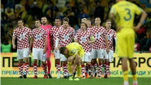 Croatia celebrate v Ukraine 09102017